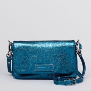Women's Metallic Blue Crossbody Too Hot To Handle
